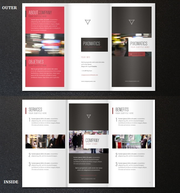 corporate tri fold brochure template 29 best free brochure templates