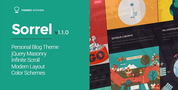 sorrel wp theme