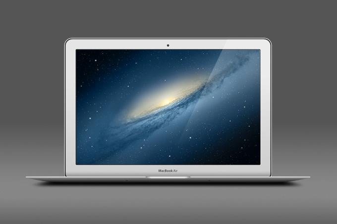 Macbook Air Free PSD