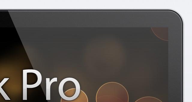 Free MacBook Pro Retina Psd Mockup