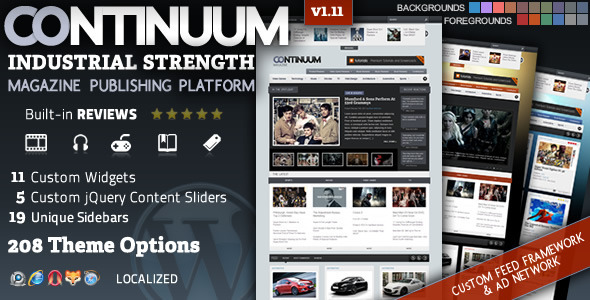 Top 30 the best premium blog and magazine wordpress themes from ThemeForest