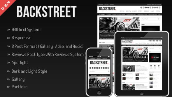 Backstreet - Blog & Magazine Theme