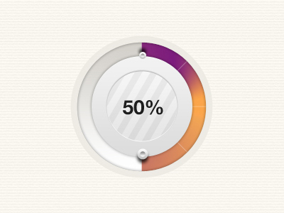 circular element loading bar web psd