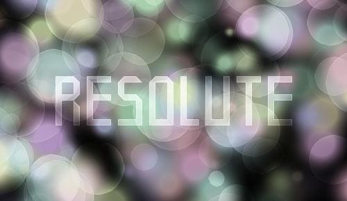 08 resolute