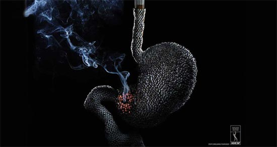 50 Most Creative Anti-Smoking Advertisements 18