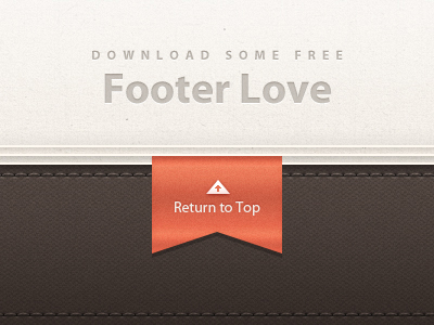 free footer website download psd