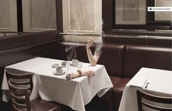 50 Most Creative Anti-Smoking Advertisements 34