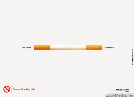 50 Most Creative Anti-Smoking Advertisements 26