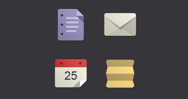 Free Flat Design Icons Set Vol1