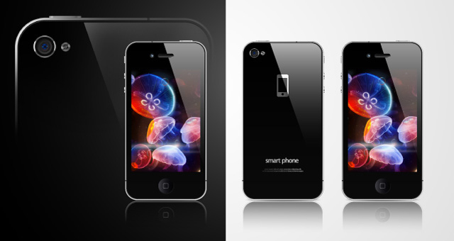 002-apple-i-phone-4-product-vector