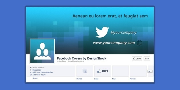 150 Professional Facebook Covers With Sources In Photoshop