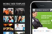 Mobile Web Template   HTML5 & CSS3