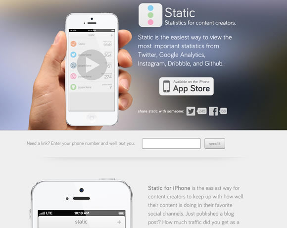 21 Beautiful iPhone App Websites