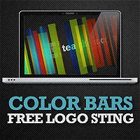 Free After Effects Project – Color Bars – Logo Sting