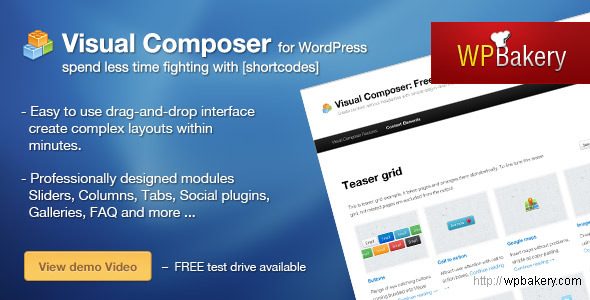 Visual Composer – Must Have Plugin for WordPress