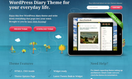 25 free wordpress theme, WP theme for designer