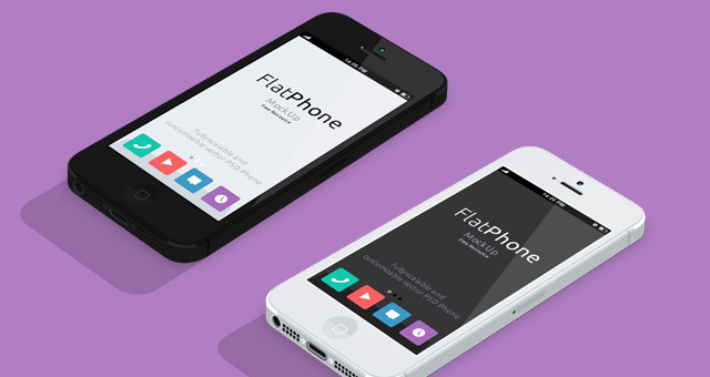 003-iphone-mockup-flat-black-white-landscape-perspective-psd