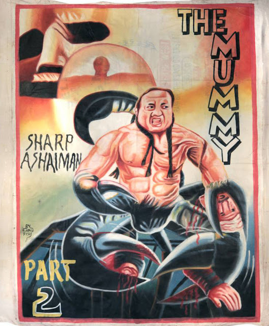 70 Hilarious Bootleg Movie Posters from Ghana 62