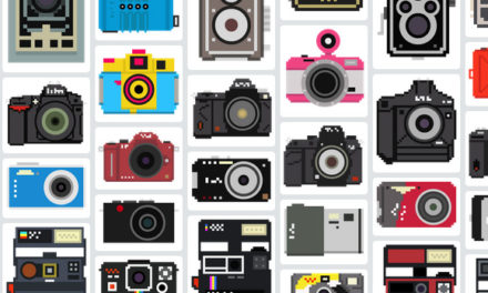 The camera Collection – Free Pixelated Camera Illustrations