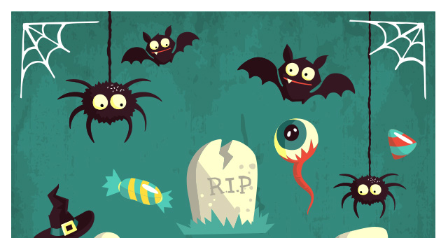 Free Halloween Vector Art Packs