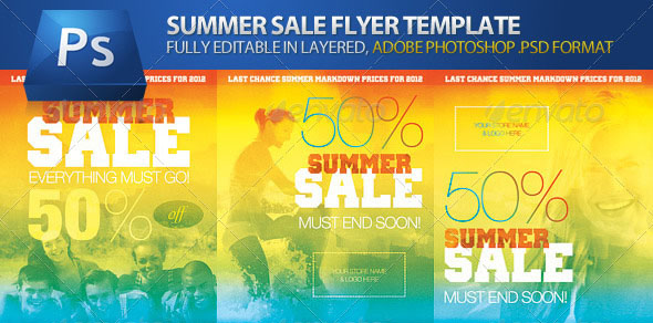 160 Free and Premium PSD Flyer Design Templates – Print Ready 26