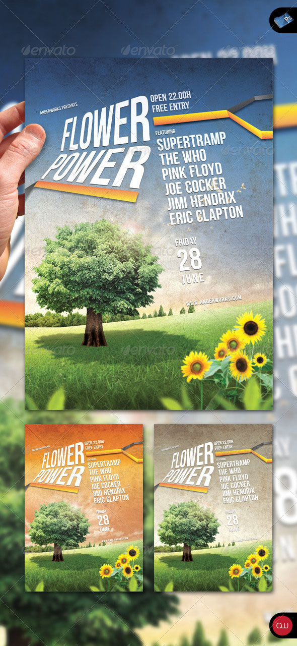 160 Free and Premium PSD Flyer Design Templates – Print Ready 35