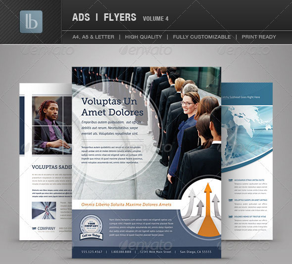 160 Free and Premium PSD Flyer Design Templates – Print Ready 37