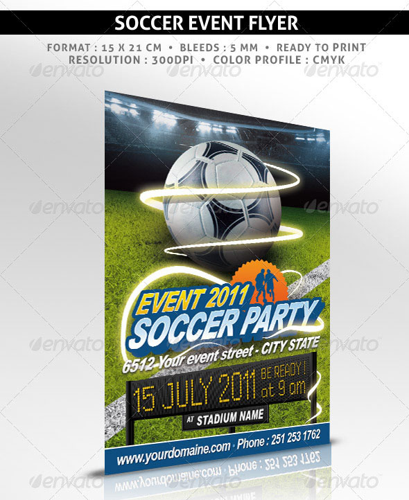 160 Free and Premium PSD Flyer Design Templates – Print Ready 42