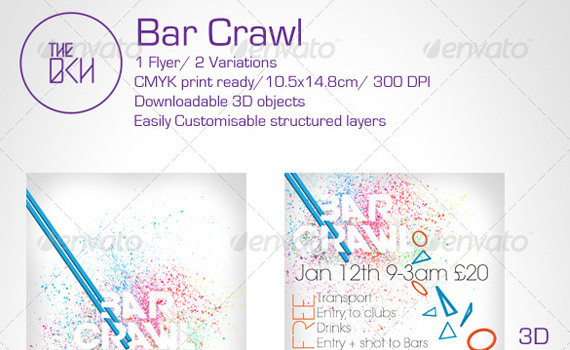 Bar-crawl-premium-print-ready-flyers