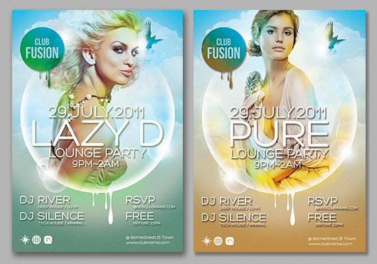 160 Free and Premium PSD Flyer Design Templates – Print Ready 5