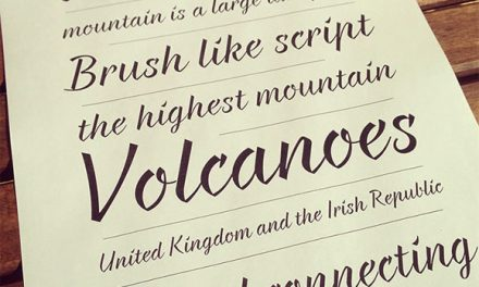 8 Fresh Free Fonts for your Designs