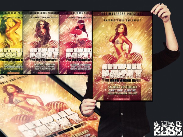 160 Free and Premium PSD Flyer Design Templates – Print Ready 3