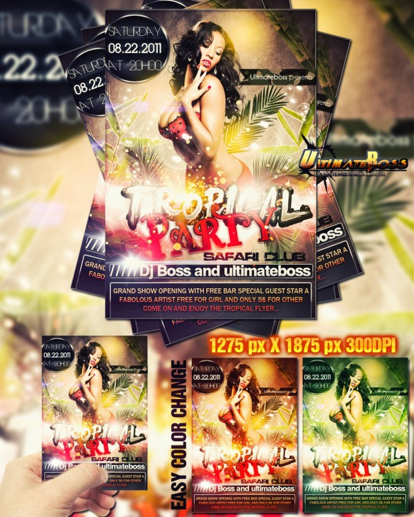 160 Free and Premium PSD Flyer Design Templates – Print Ready 2