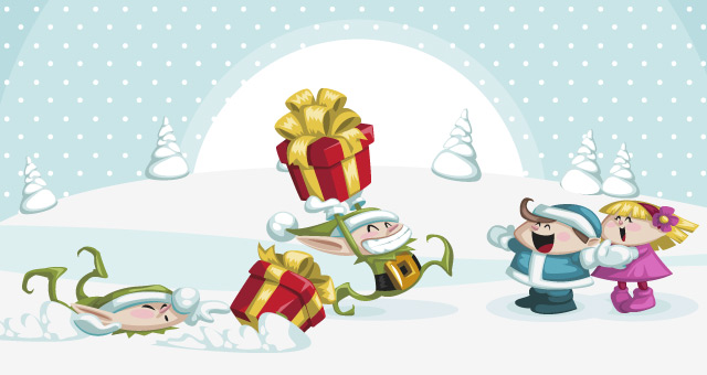 004-merry-christmas-characters-funny-vector-santa-clous
