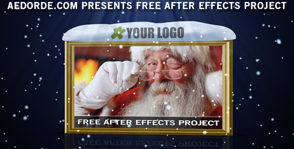 Free After Effects Project - Merry Christmas