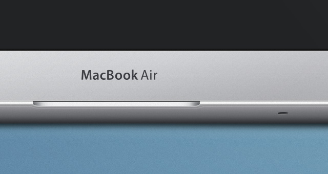 Free MacBook Air Psd Mockup