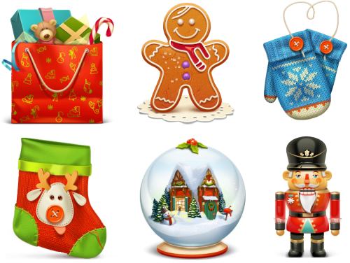 Free Christmas Icon Set