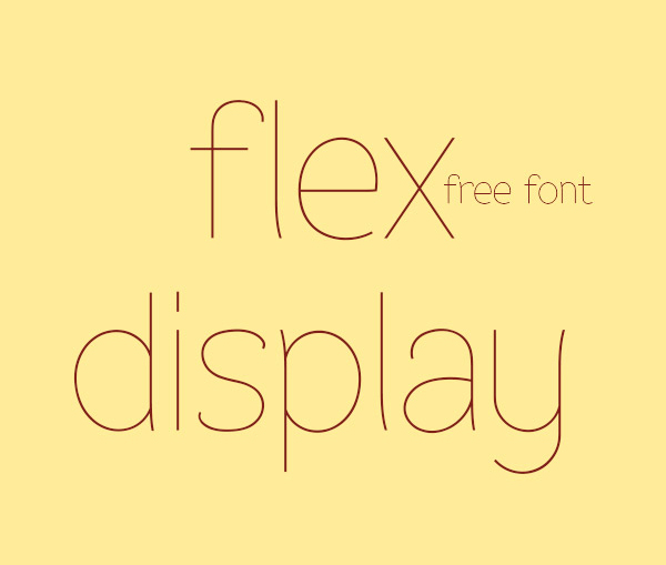 40 Free Fonts For Flat Design 31