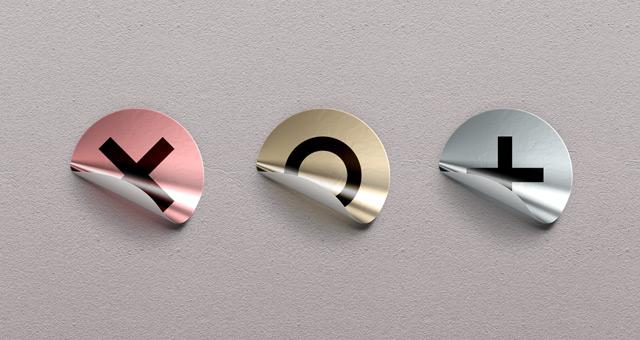 Free Psd Foil Sticker Badges
