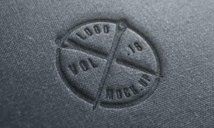 Free Linen Logo Mock-Up Template