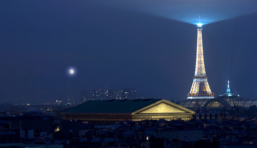 Night light eiffel tower wallpapers free download hi res
