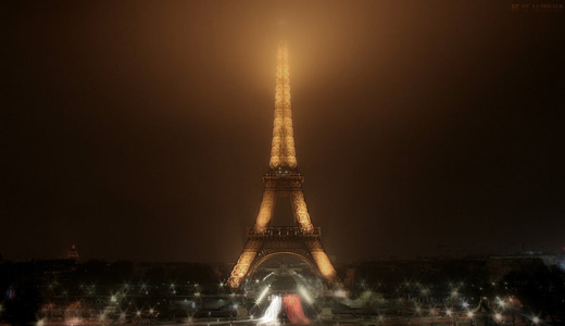 Milky eiffel tower wallpapers free download hi res