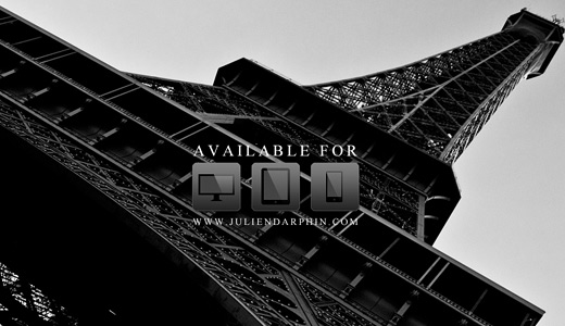 Gray black and white eiffel tower wallpapers free download hi res