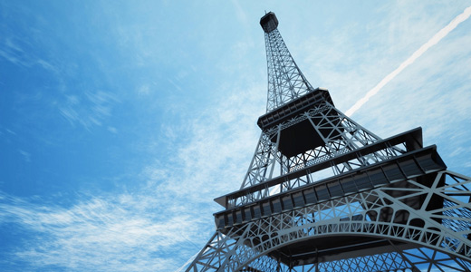Blue sky eiffel tower wallpapers free download hi res