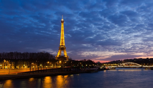 Sunset eiffel tower wallpapers free download hi res