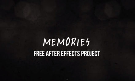 Memories – FREE After Effects project