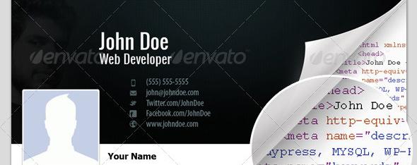 developer timeline cover Top 40 Premium Facebook Timeline Cover Photo Templates