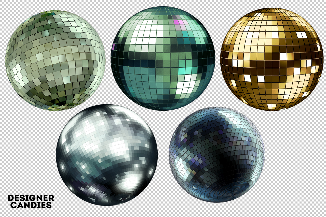 Disco Ball Renders