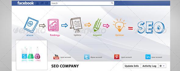 seo company Top 40 Premium Facebook Timeline Cover Photo Templates