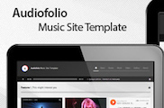 Audiofolio - Music Site Template